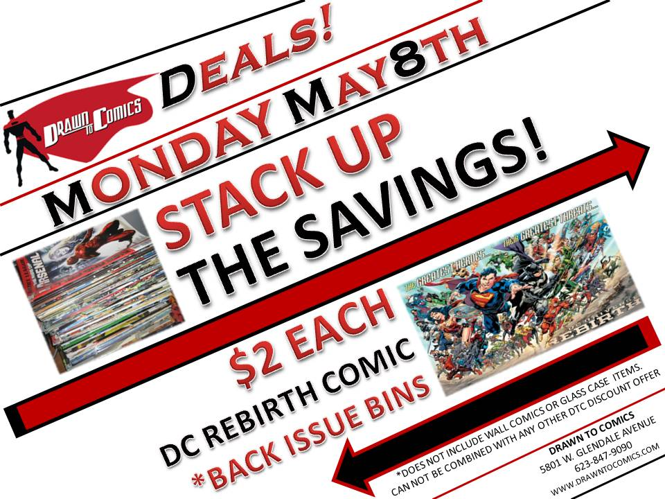 STACK UP THE SAVINGS BACK ISSUE DEAL DC REBIRTH 508