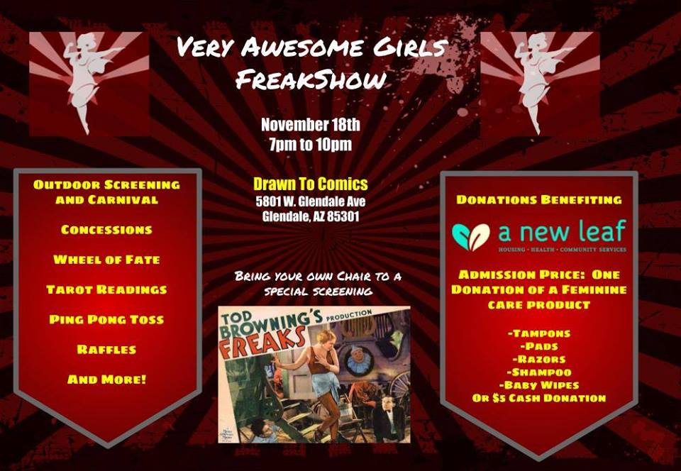 Very Awesome Girls Freak Show
