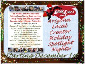 Holiday Artist Nights w address