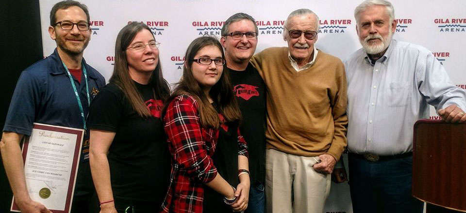 DRAWN TO COMICS AND STAN LEE 960X440